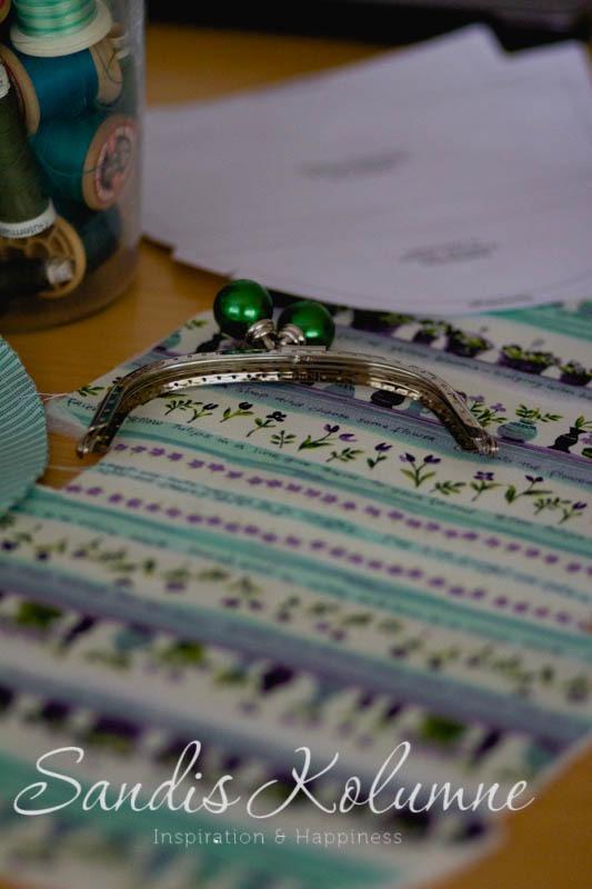 Schnitt und Ansatz des Taschenbügels überlegen