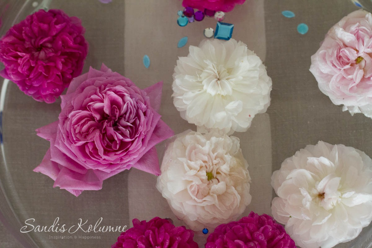 Schwimmende blin bling Blumen 2