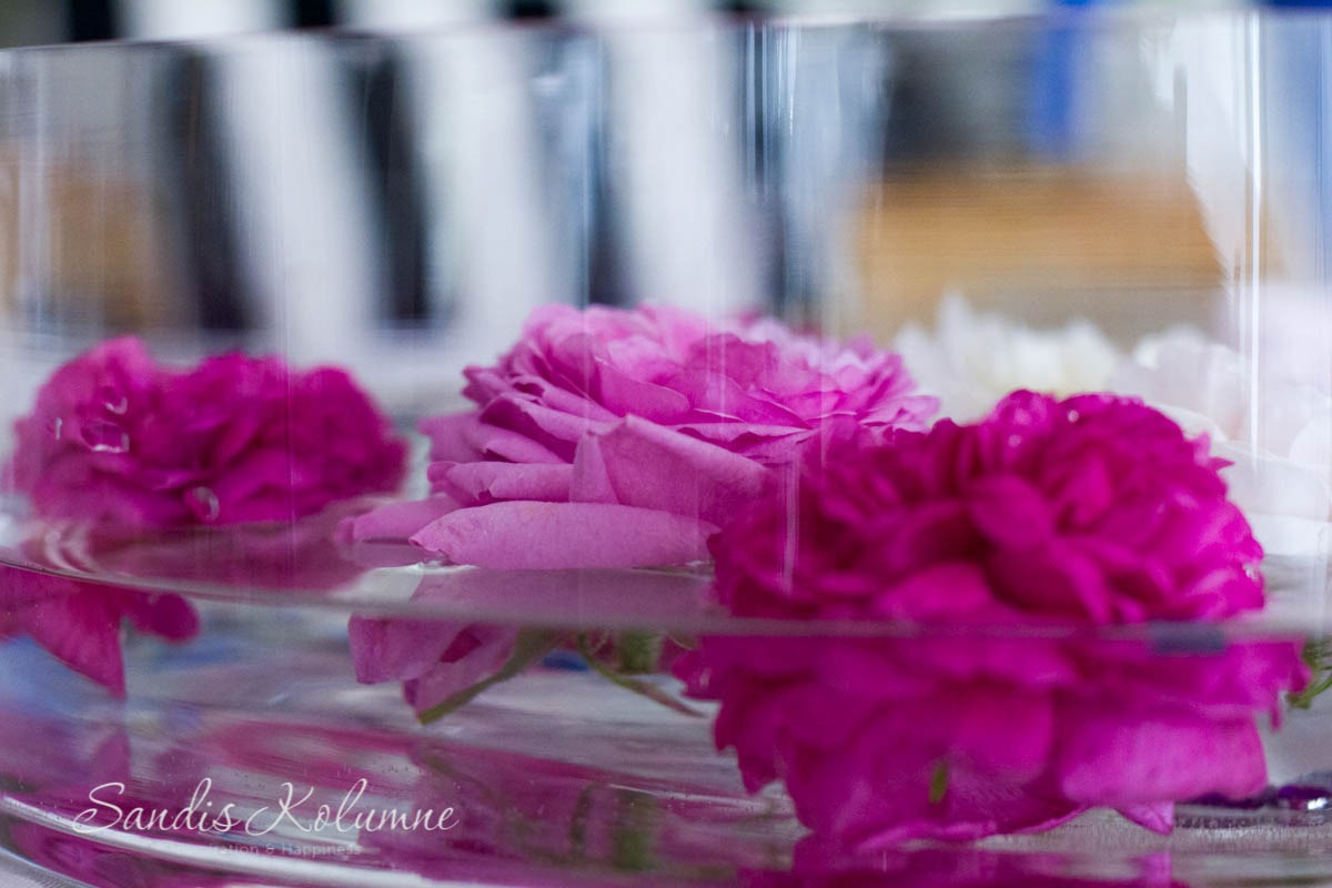 Schwimmende blin bling Blumen 4