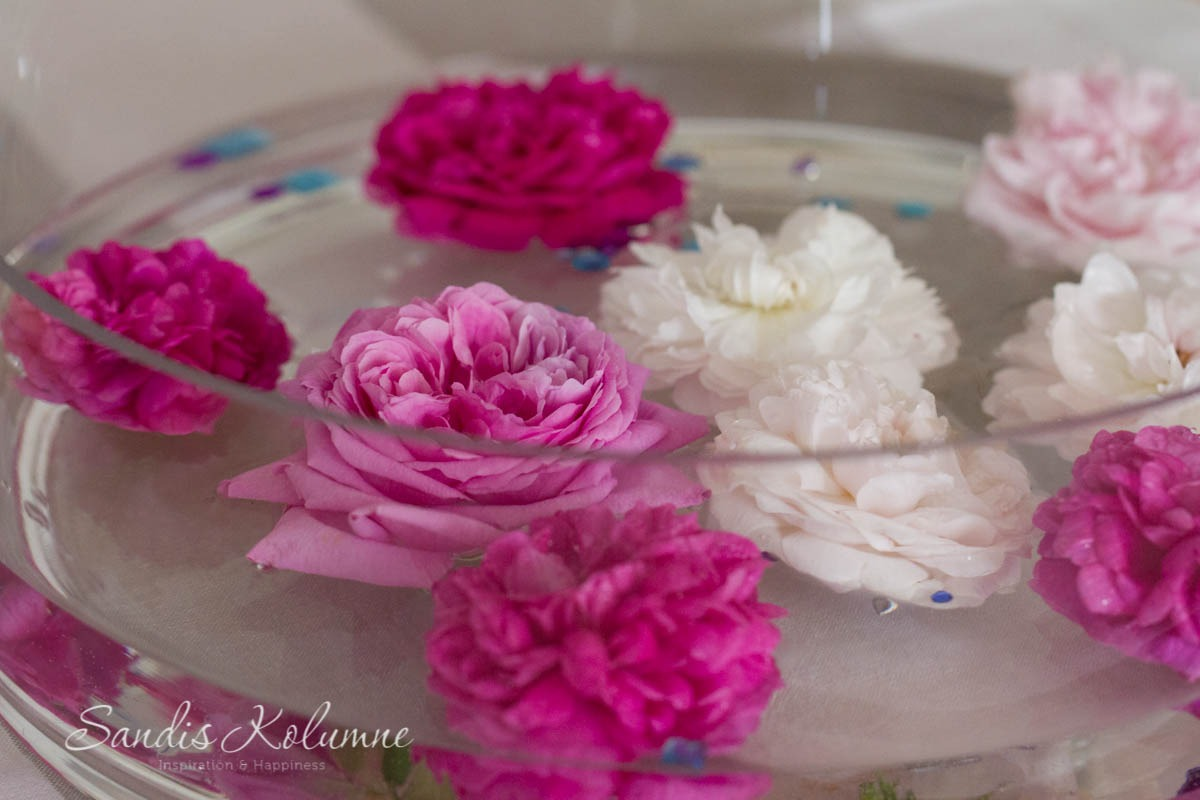 Schwimmende blin bling Blumen 3