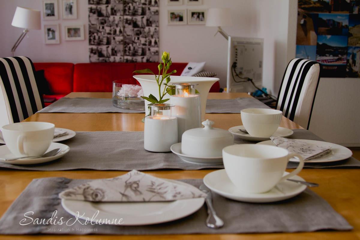 Tischdeko Frühstück AINA 2