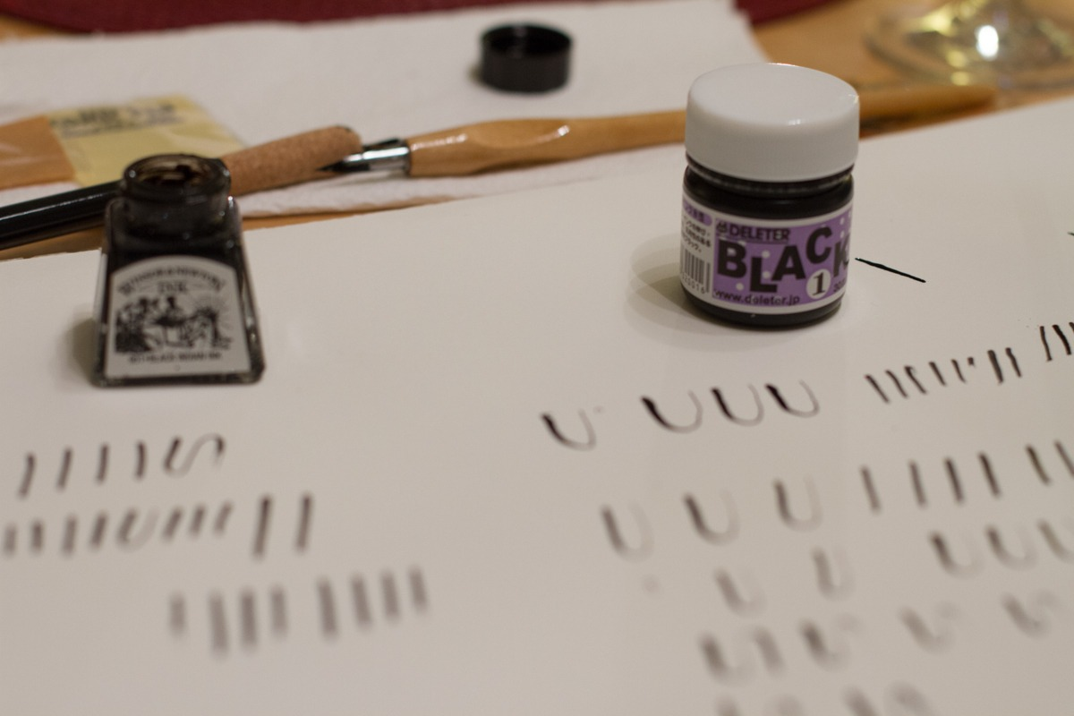 Kalligrafiestart 3