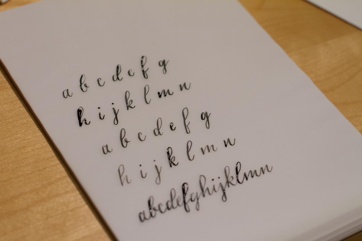 Kalligrafiestart 4