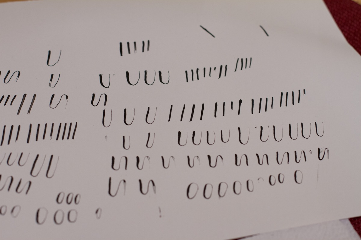 Kalligrafiestart 5