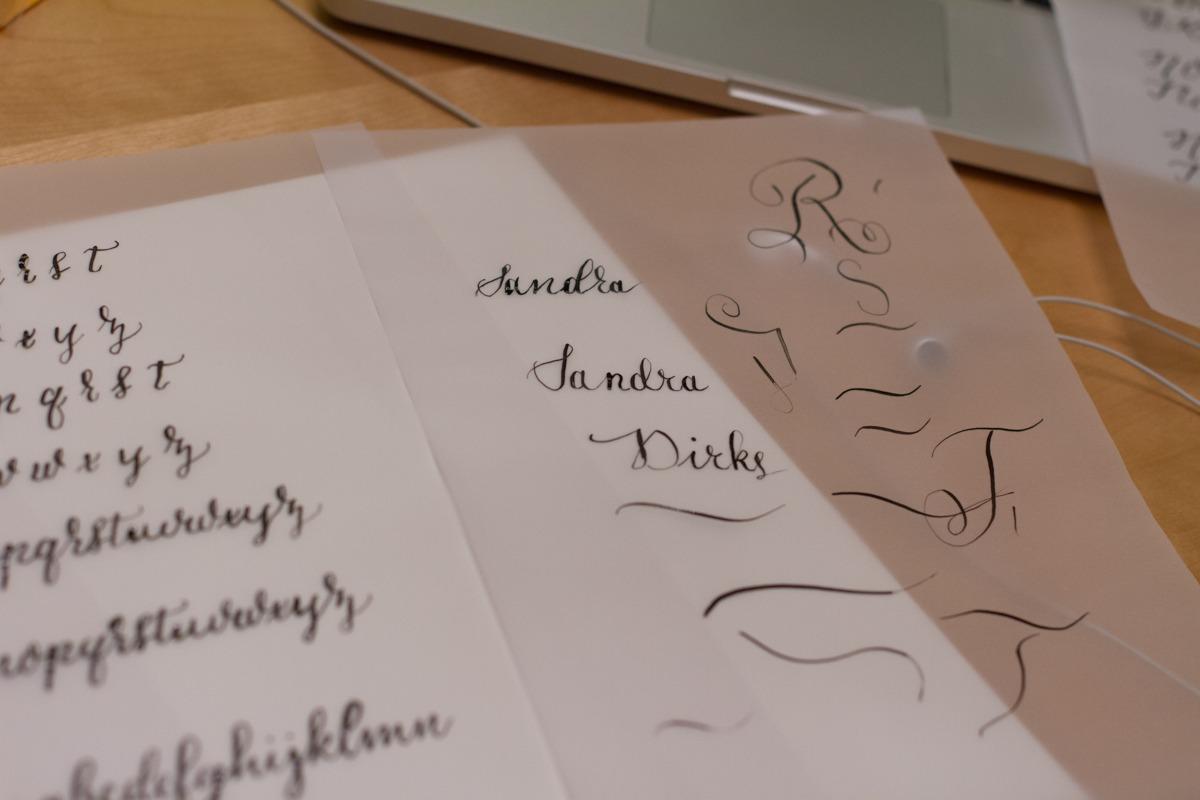 Kalligrafiestart 6