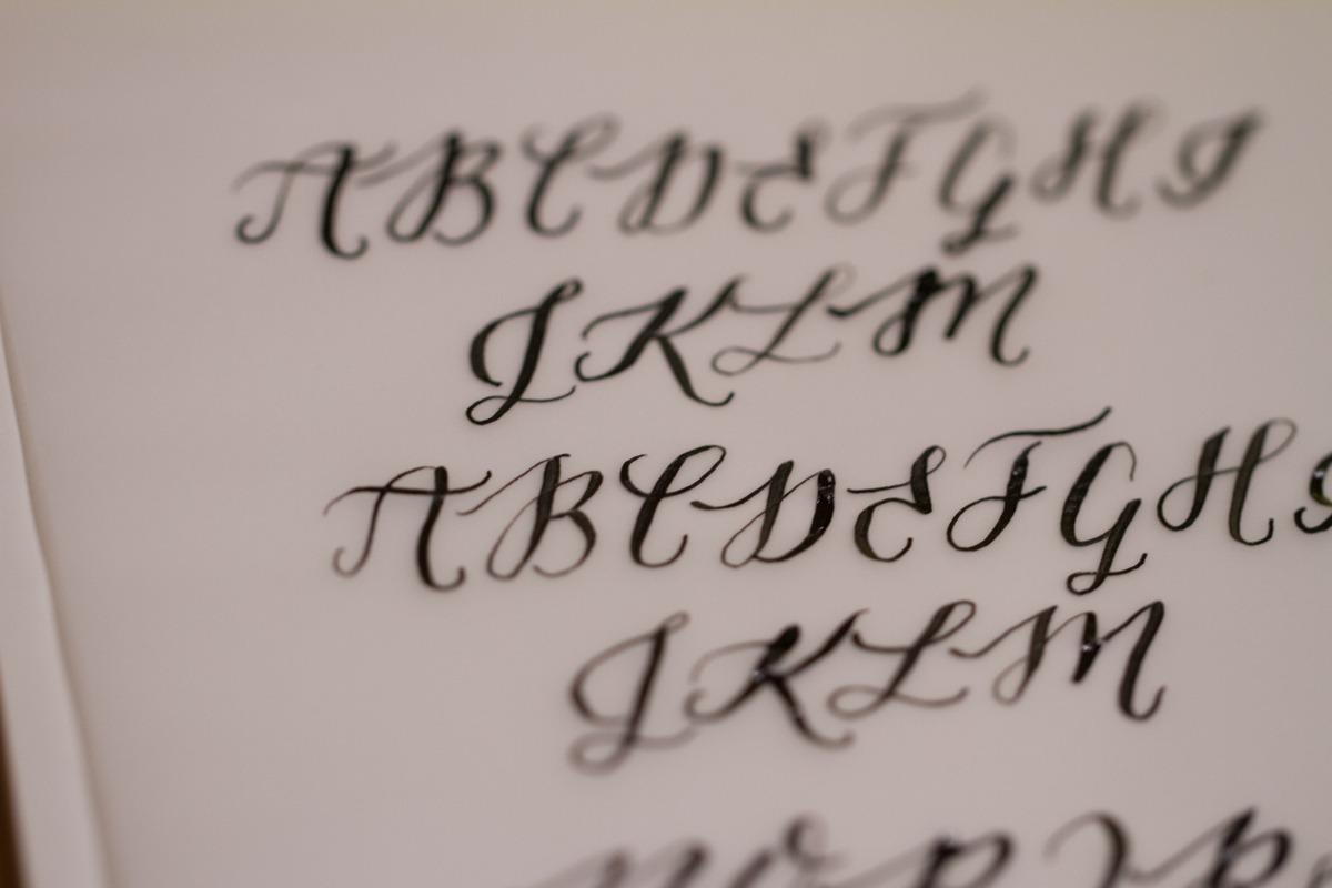 Kalligrafiestart 8