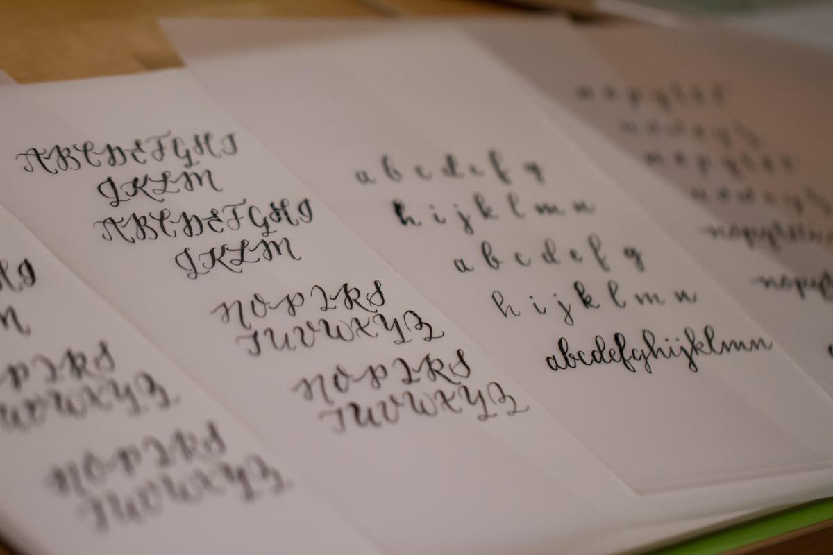 Kalligrafiestart 10