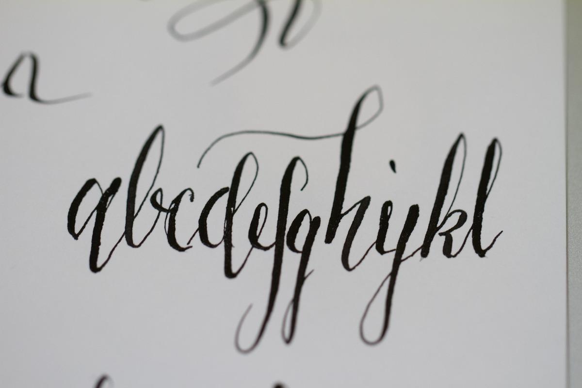 Kalligrafiestart 12