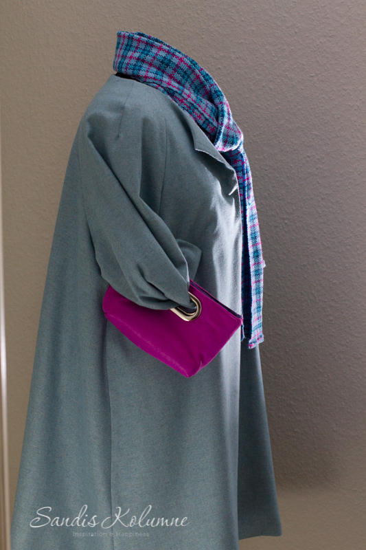 Mantel und Clutch 6