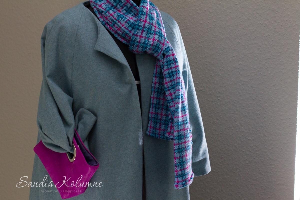 Mantel und Clutch 8