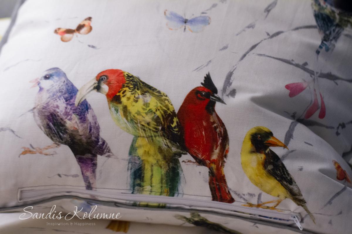 Chivasso-Kissen Vögel 4