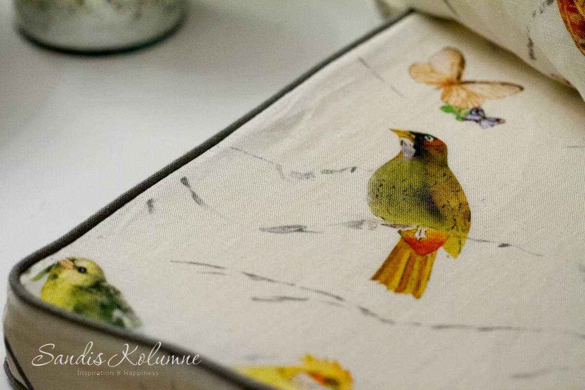 Chivasso-Kissen Vögel 5