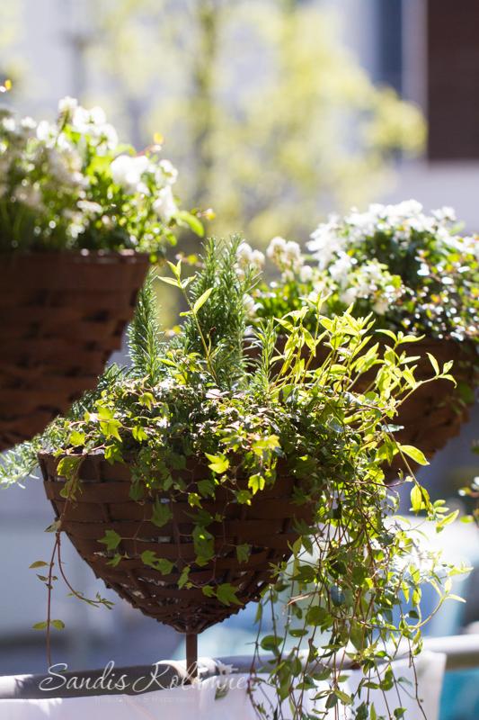 Blumenkästen rund