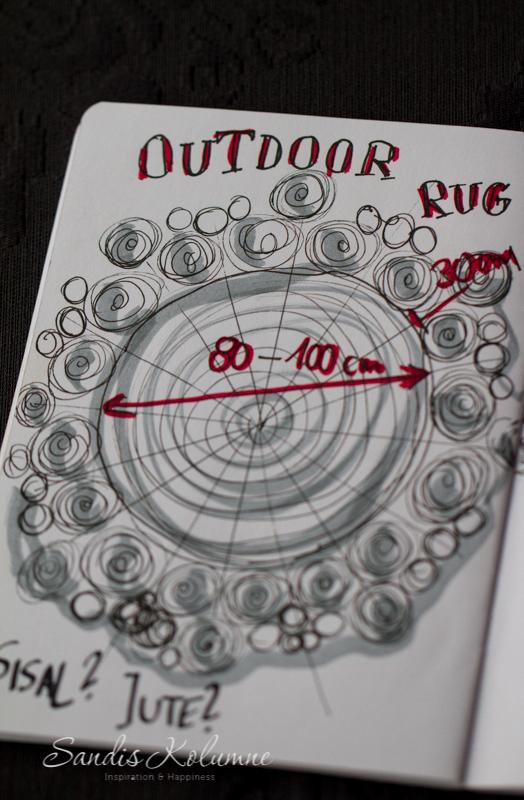 Outdoor-Teppich Entwurf