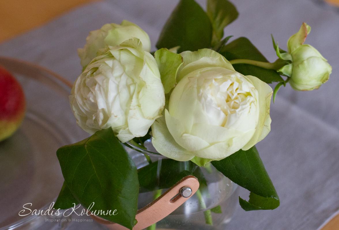 Flower Friday Pfingst, Rosen und Birnen 3
