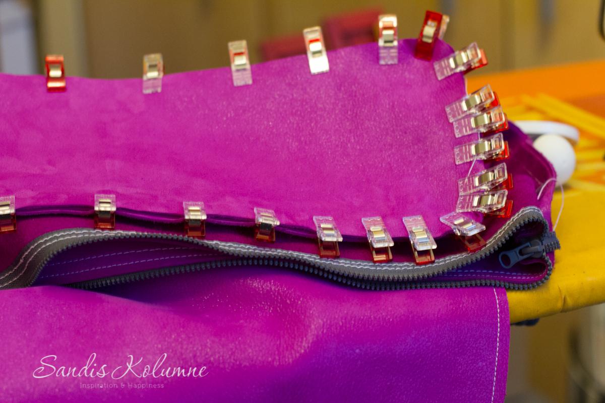 neue Tasche in Glitzerpink 11