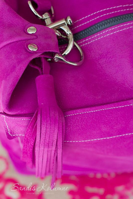 neue Tasche in Glitzerpink 20