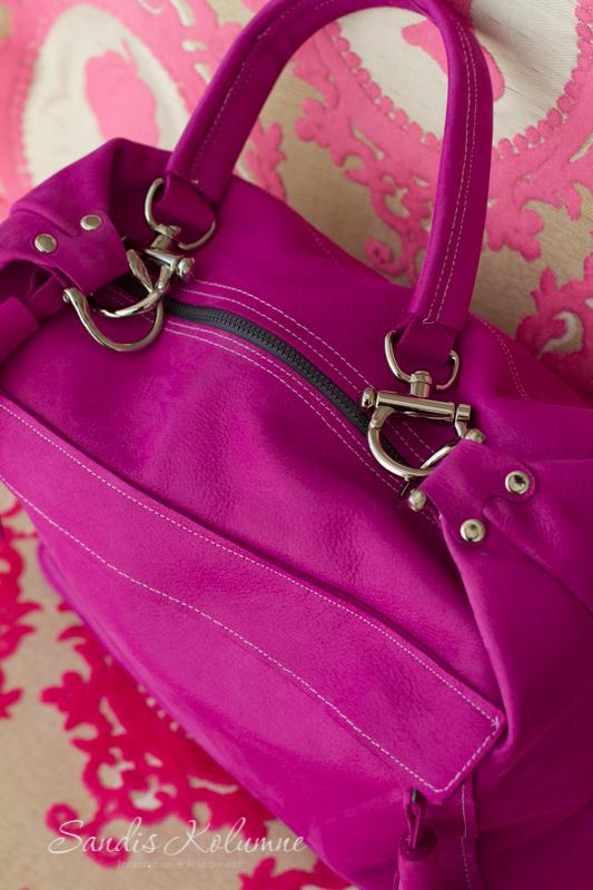neue Tasche in Glitzerpink 21