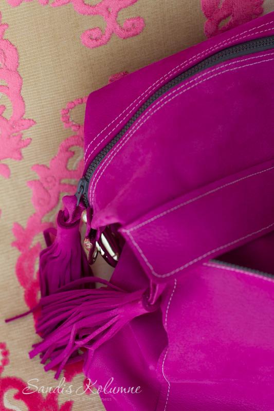 neue Tasche in Glitzerpink 24