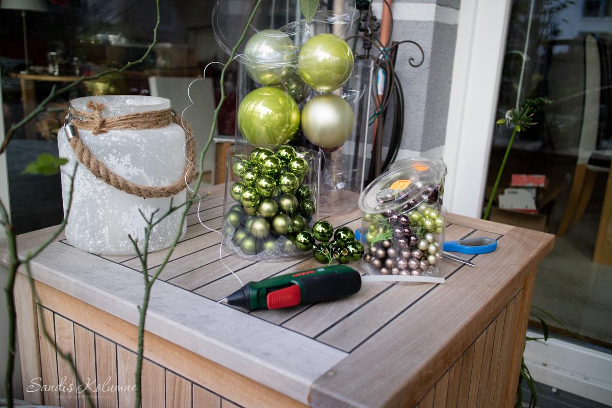 Adventsdeko Terrasse und Garten 2015 3