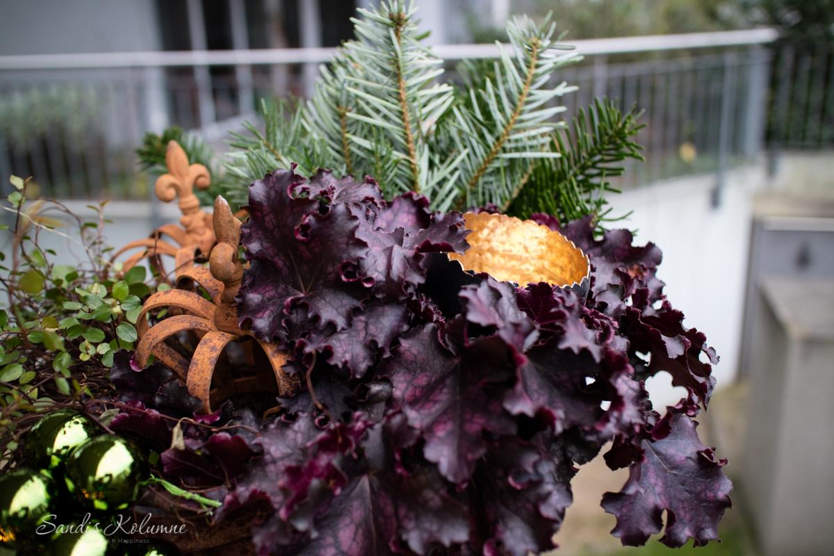 Adventsdeko Terrasse und Garten 2015 15