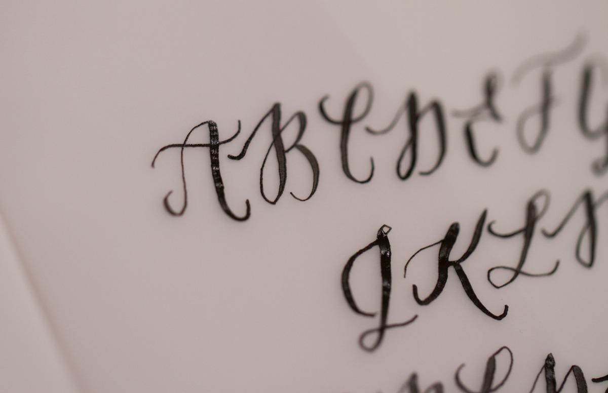 Kalligrafiestart 11