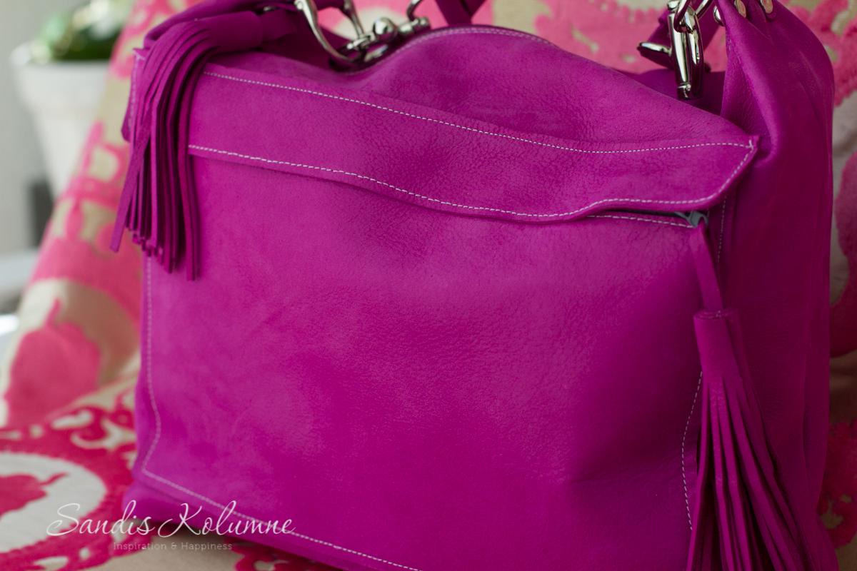 neue Tasche in Glitzerpink 16