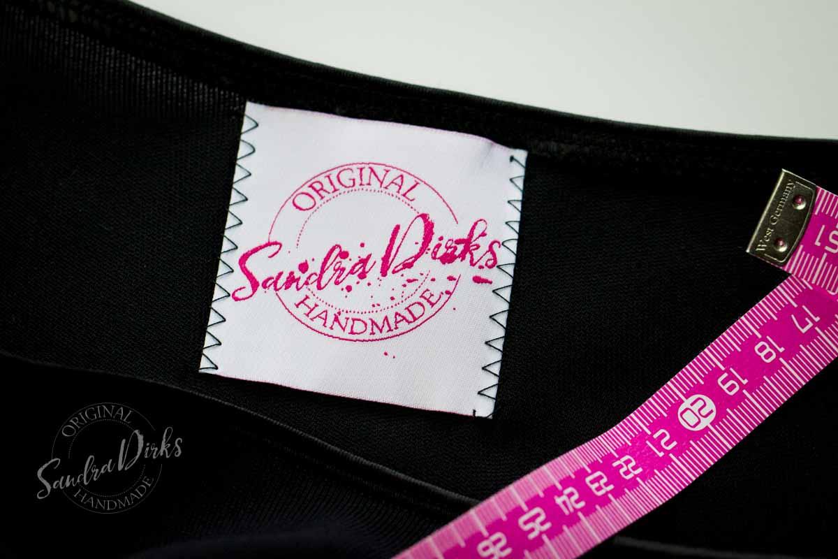 Textiletiketten Sandra Dirks Original