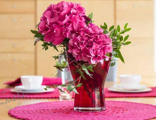 FridayFlowerday und rotpink Jersey Tischsets (18 von 1)