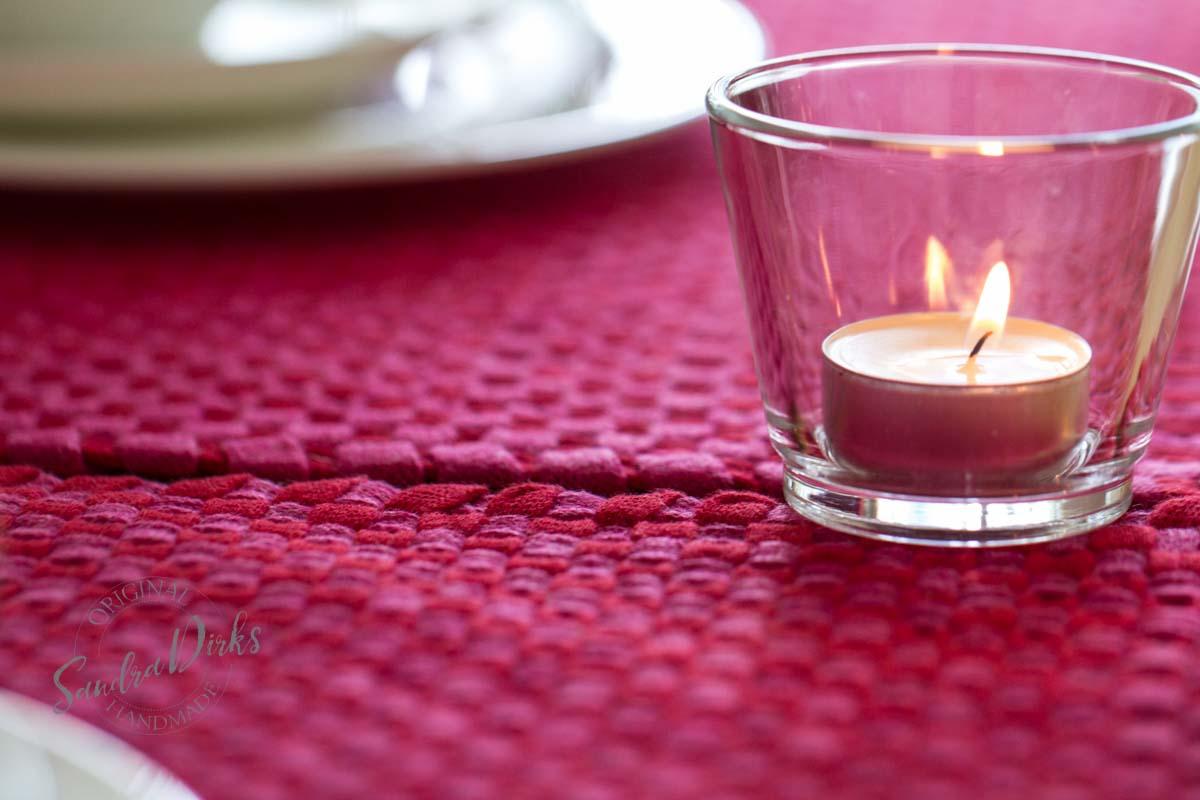 FridayFlowerday und rotpink Jersey Tischsets (42 von 43)