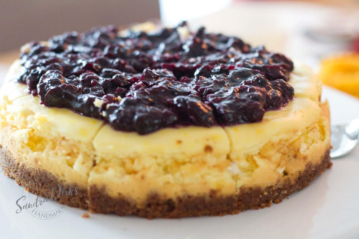 Sandra Dirks - Adventskaffee Geburtstagstisch Cheesecake