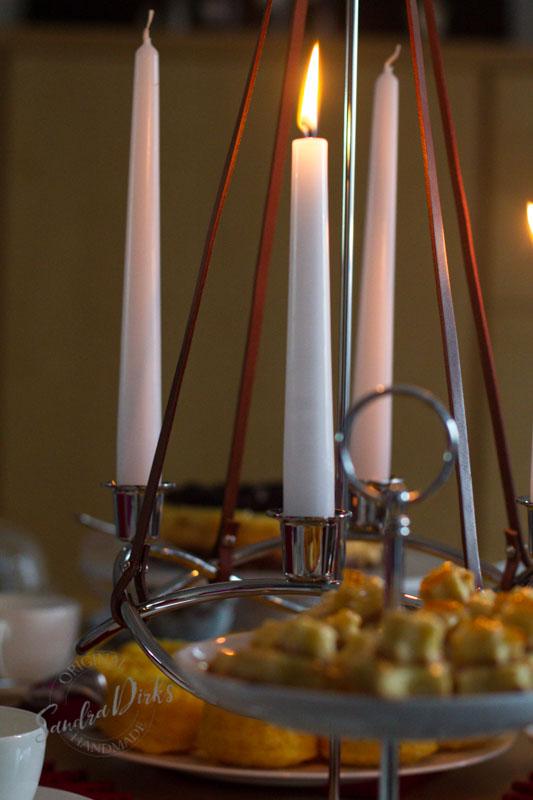 Sandra Dirks - Adventskaffee Geburtstagstisch Kerzenleuchter