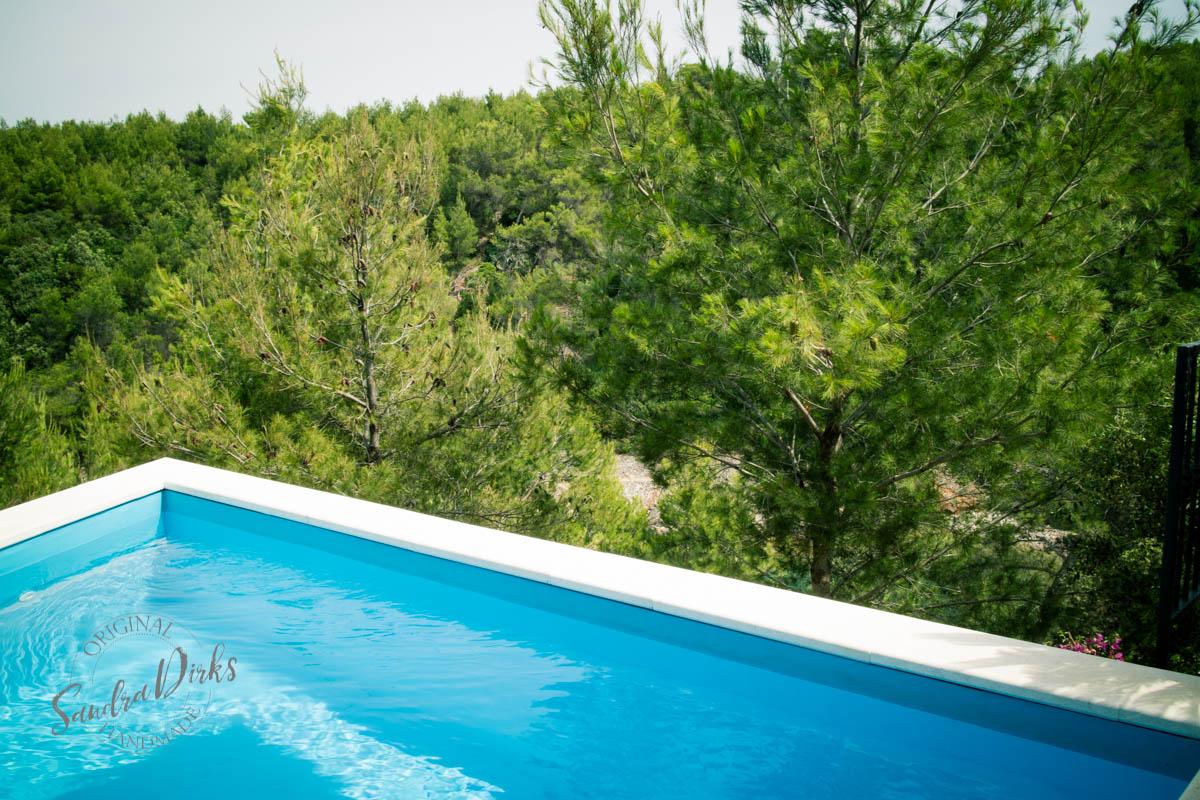 Sandra Dirks - Villa Rosa Pool Detail