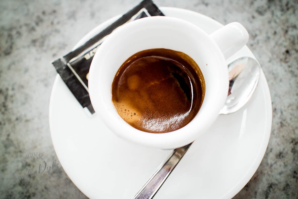 Sandra Dirks - Stari Grad Hvar Espresso von oben