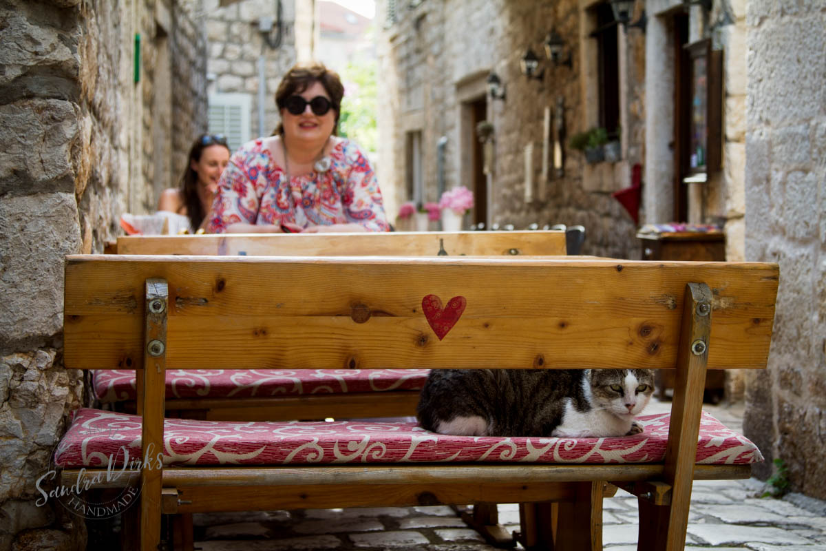Sandra Dirks - Stari Grad Hvar die Katze und ich