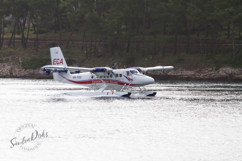 Sandra Dirks - von Jelsa nach Split mit dem Wasserflugzeug 2
