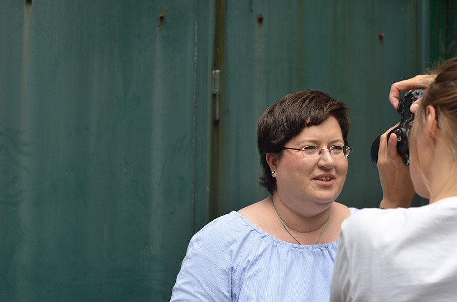 Sandra Dirks - Portraitfotos von erbsenprinzessin 1
