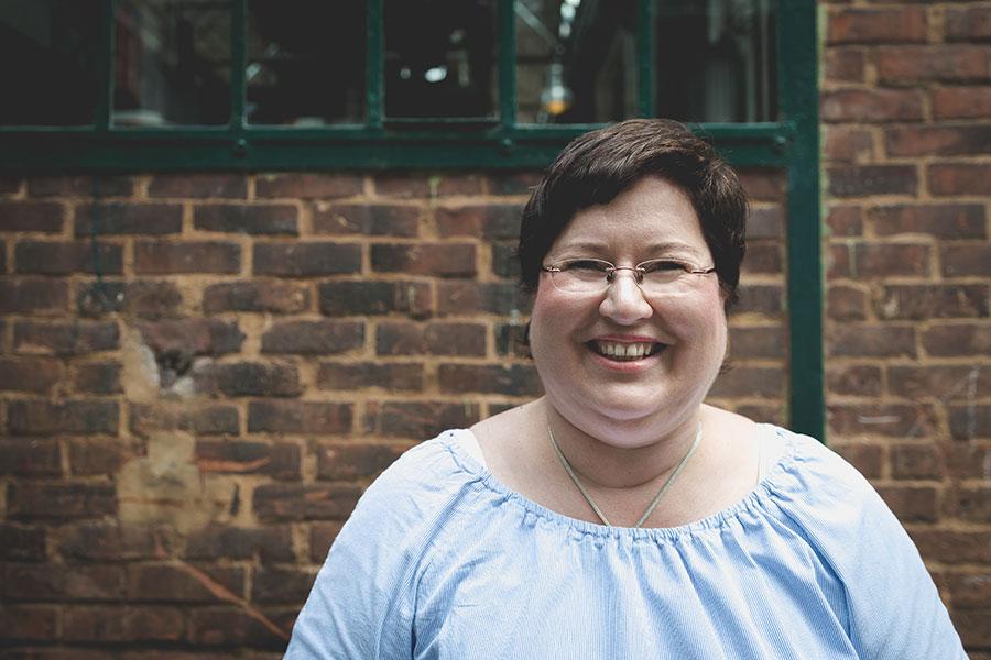 Sandra Dirks - Blogst Barcamp Portraitsession Mirjam