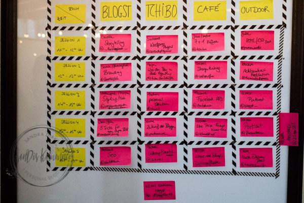 Sandra Dirks - Blogst Barcamp Sessionplan