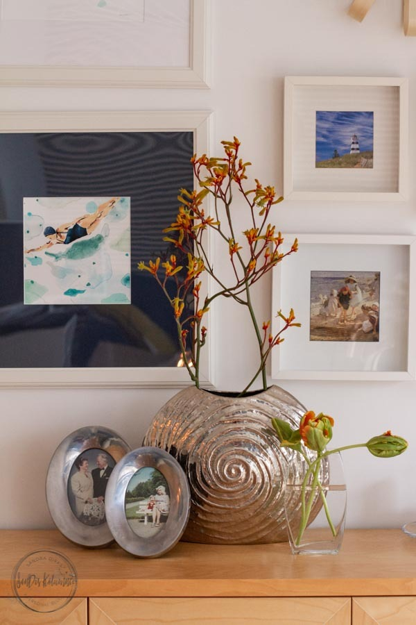 Sandra Dirks - FlowerFriday mit Papagei und Känguru