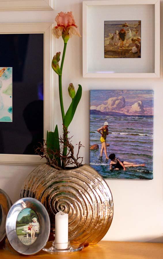 Sandra Dirks - FlowerFriday mit Iris aus dem Aquarell