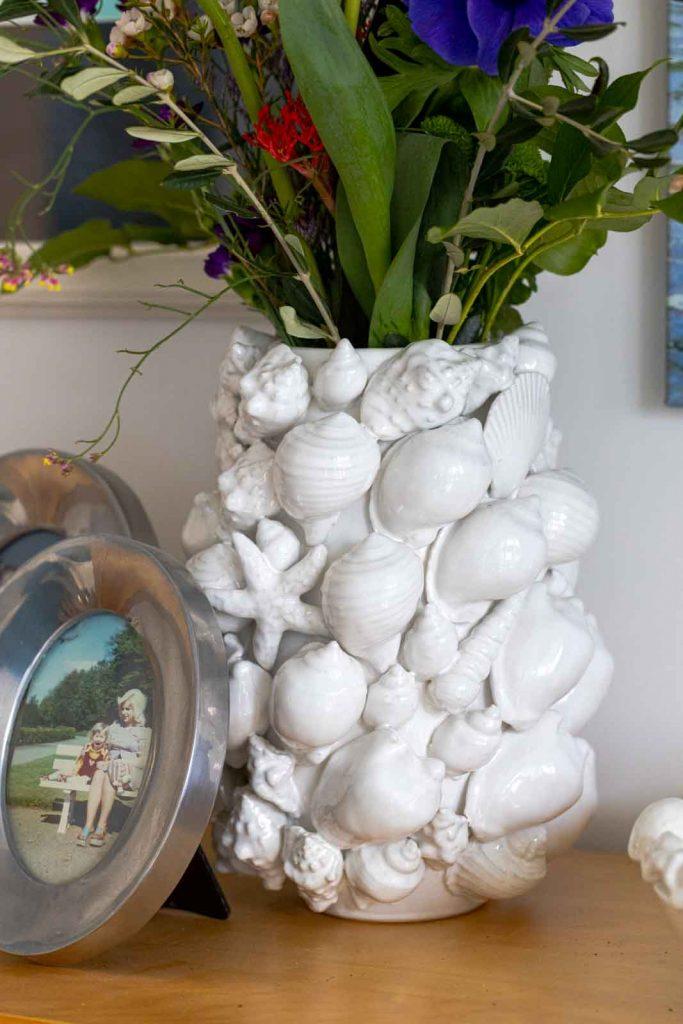 Sandra Dirks - FlowerFriday mit Muschelvase