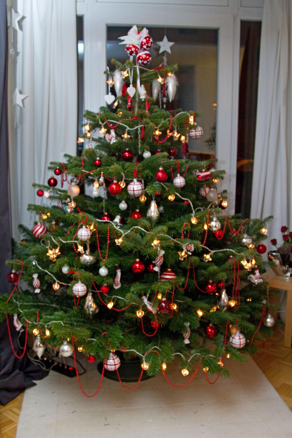 Lametta weihnachtsbaum woher